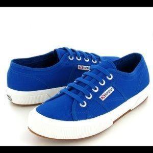 Royal Blue Superga Cotu Classic Size 8/39